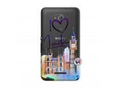 Coque Sony Xperia E4G I Love London