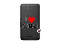 Coque Sony Xperia E4G I Love Maman
