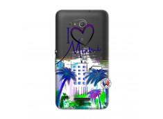 Coque Sony Xperia E4G I Love Miami