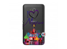 Coque Sony Xperia E4G I Love Moscow