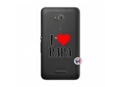 Coque Sony Xperia E4G I Love Papa