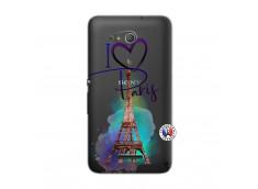 Coque Sony Xperia E4G I Love Paris