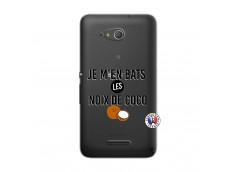 Coque Sony Xperia E4G Je m'en bats Les Noix De Coco