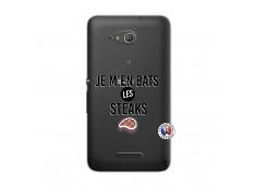 Coque Sony Xperia E4G Je M En Bas Les Steaks