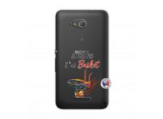 Coque Sony Xperia E4G Je Peux Pas J Ai Basket
