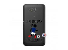 Coque Sony Xperia E4G Je Peux Pas J Ai Les Bleues