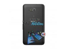 Coque Sony Xperia E4G Je Peux Pas J Ai Natation