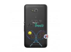 Coque Sony Xperia E4G Je Peux Pas J Ai Tennis