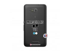 Coque Sony Xperia E4G Marseillais à Vie