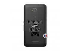 Coque Sony Xperia E4G Monsieur Mauvais Perdant