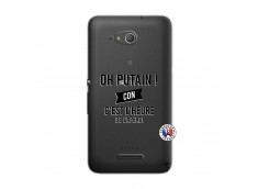 Coque Sony Xperia E4G Oh Putain C Est L Heure De L Apero