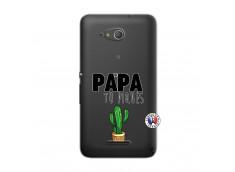 Coque Sony Xperia E4G Papa Tu Piques