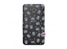 Coque Sony Xperia E4G Petits Hippos
