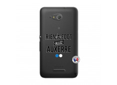 Coque Sony Xperia E4G Rien A Foot Allez Auxerre