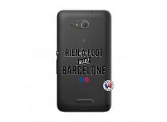 Coque Sony Xperia E4G Rien A Foot Allez Barcelone