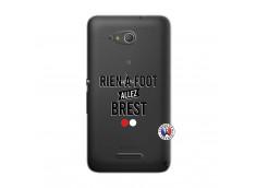 Coque Sony Xperia E4G Rien A Foot Allez Brest