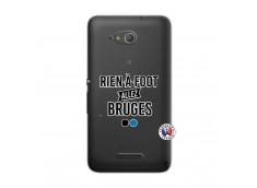 Coque Sony Xperia E4G Rien A Foot Allez Bruges