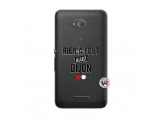 Coque Sony Xperia E4G Rien A Foot Allez Dijon