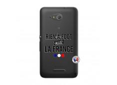 Coque Sony Xperia E4G Rien A Foot Allez La France