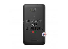 Coque Sony Xperia E4G Rien A Foot Allez Le Portugal