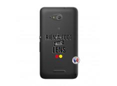 Coque Sony Xperia E4G Rien A Foot Allez Lens