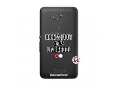 Coque Sony Xperia E4G Rien A Foot Allez Liverpool