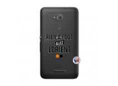 Coque Sony Xperia E4G Rien A Foot Allez Lorient