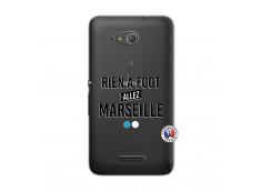 Coque Sony Xperia E4G Rien A Foot Allez Marseille