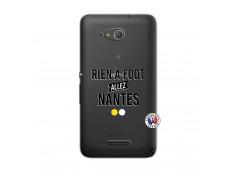 Coque Sony Xperia E4G Rien A Foot Allez Nantes