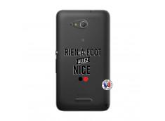 Coque Sony Xperia E4G Rien A Foot Allez Nice