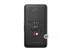 Coque Sony Xperia E4G Rien A Foot Allez Nimes