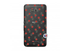 Coque Sony Xperia E4G Rose Pattern