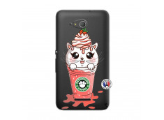 Coque Sony Xperia E4G Catpucino Ice Cream