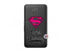 Coque Sony Xperia E4G Super Maman