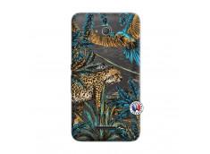 Coque Sony Xperia E4G Leopard Jungle