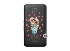 Coque Sony Xperia E4G Puppies Love