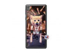 Coque Sony Xperia E5 Cat Nasa Translu