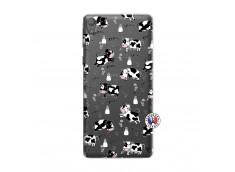 Coque Sony Xperia E5 Cow Pattern