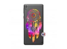 Coque Sony Xperia E5 Dreamcatcher Rainbow Feathers