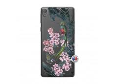 Coque Sony Xperia E5 Flower Birds