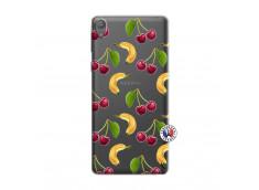Coque Sony Xperia E5 Hey Cherry, j'ai la Banane