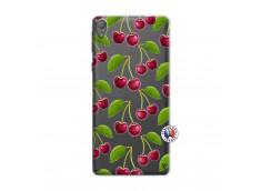 Coque Sony Xperia E5 oh ma Cherry