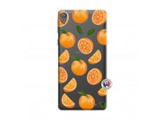 Coque Sony Xperia E5 Orange Gina