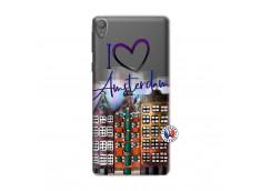 Coque Sony Xperia E5 I Love Amsterdam