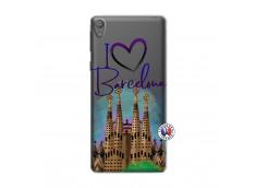 Coque Sony Xperia E5 I Love Barcelona