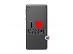 Coque Sony Xperia E5 I Love Maman