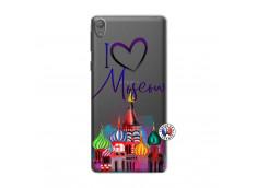 Coque Sony Xperia E5 I Love Moscow