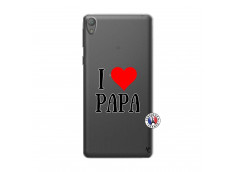Coque Sony Xperia E5 I Love Papa