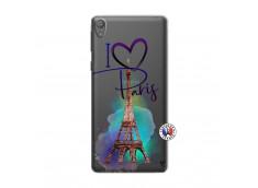 Coque Sony Xperia E5 I Love Paris