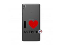 Coque Sony Xperia E5 I Love Toulouse